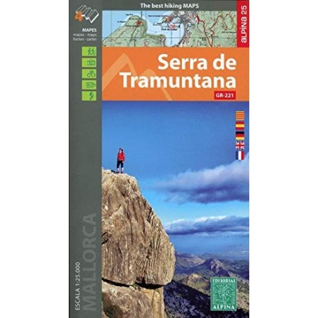 ALPINA 4 mapas SERRA DE TRAMUNTANA